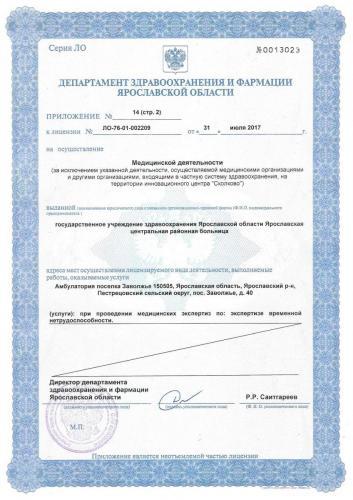 Лицензия 2017  (стр2) Амб. Заволжье